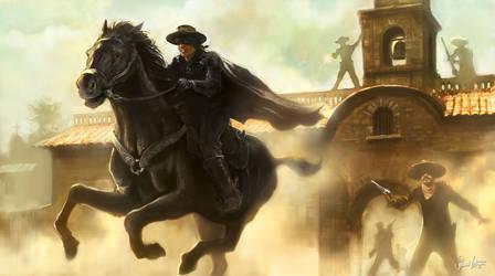 Zorro Escapes by sl-1138