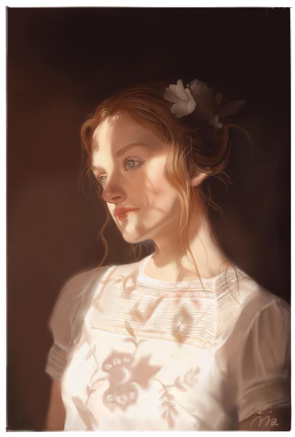 Portrait by mimia1112