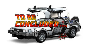 Delorean Time Machine TO BE CONCLUDED...