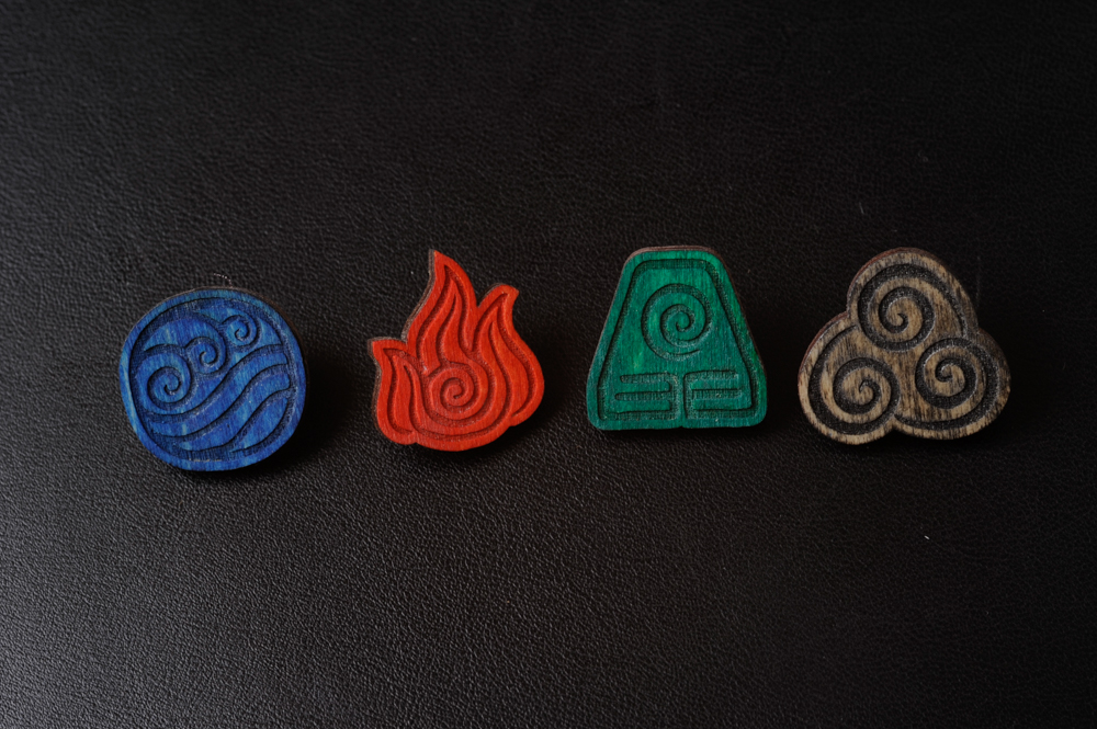 Avatar The Last Airbender Bending Symbols By Bassqee On Deviantart