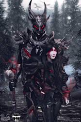 Daedric Armour Cosplay Edit by CharlightArt