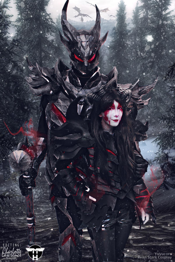 Daedric Armour Cosplay Edit by Charjuku