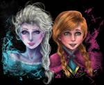 Anna and Elsa Realism ~