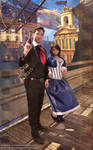 In Columbia : Booker and Elizabeth Cosplay
