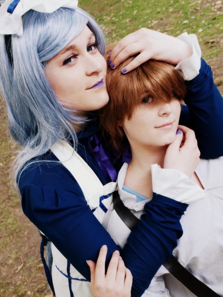 My Love Luca and Hannah by NoahsArkCircusBlack
