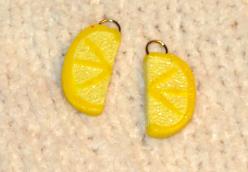 Lemon beads by KRSdeviations