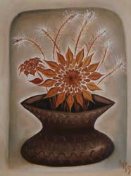 Brown Vase II by KRSdeviations