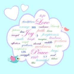 Positive word cloud by KRSdeviations