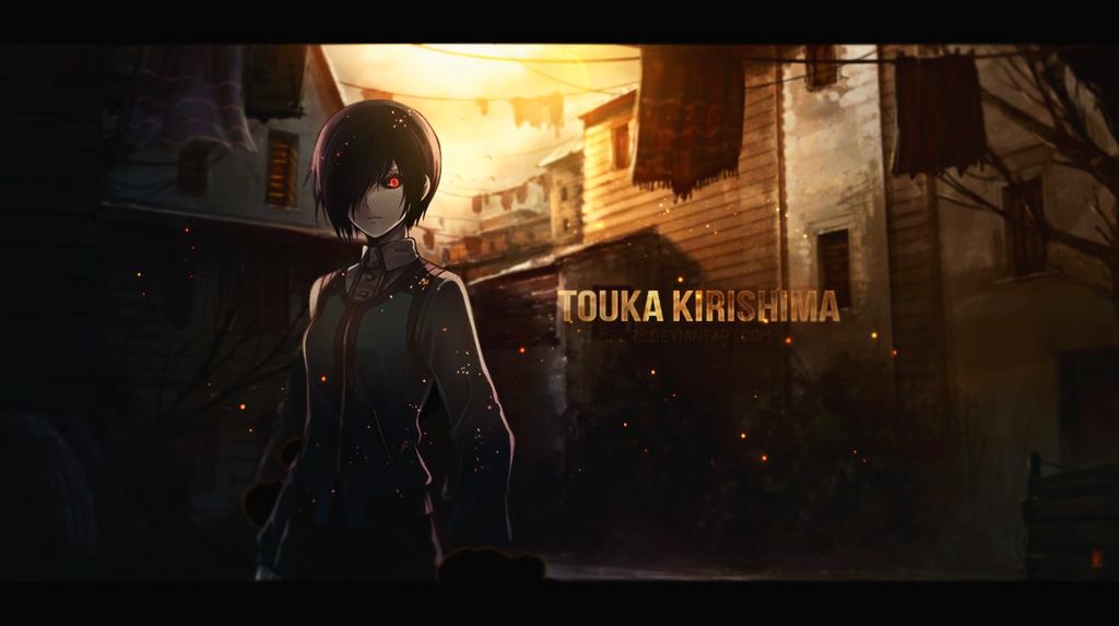 Touka Kirishima Wallpaper By Npqrs On DeviantArt