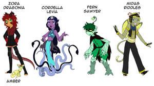 Characters Design by ZanyComics