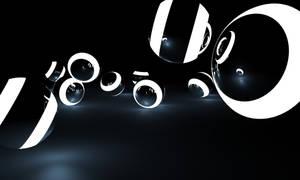 Glow Spheres by Hazza42