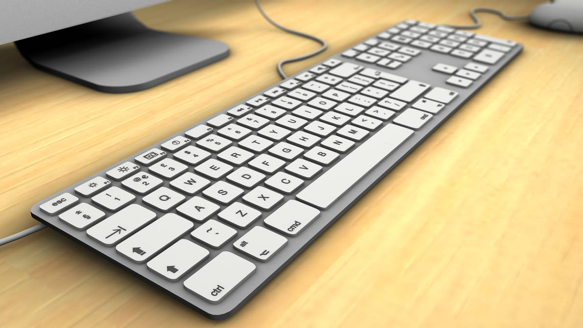 iMac Keyboard by Hazza42