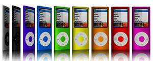 iPod Nanos by Hazza42