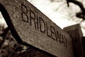 'Bridleway' Sign by Hazza42