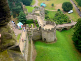 Tilt-Shift Castle by Hazza42