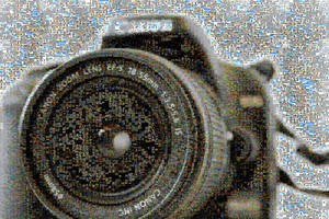 Canon 1000D Mosaic by Hazza42