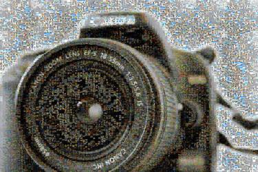 Canon 1000D Mosaic by Hazza42