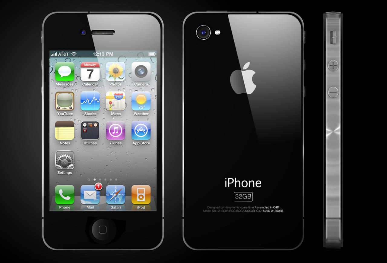 iPhone 4 a Luxury Design
