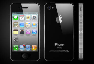 iPhone 4 Design by Hazza42