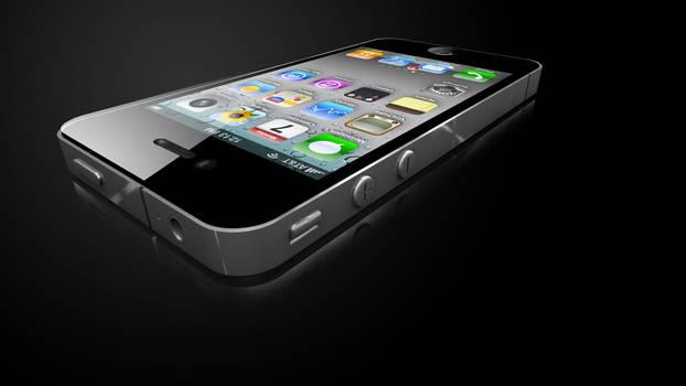 iPhone 4 Flat