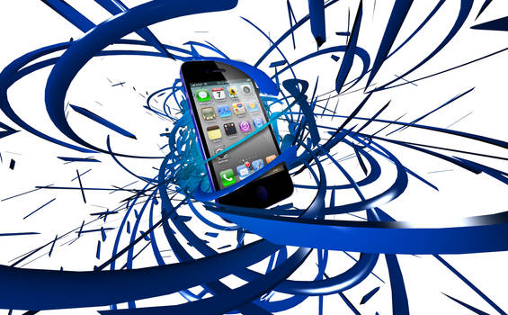 iPhone Abstract