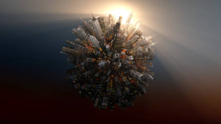 City Planet by Hazza42