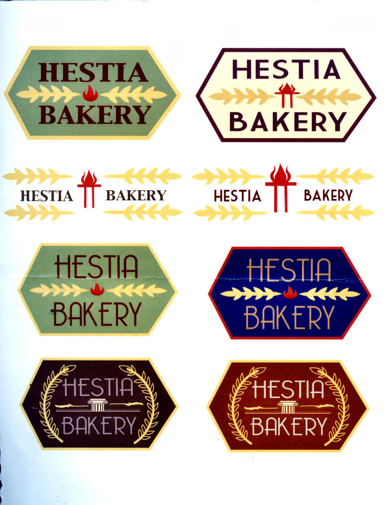 hestia bakery logo designs by lycheepapa on deviantart