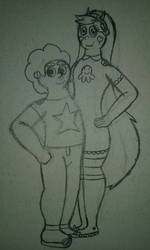 Steven Universe and Star Butterfly
