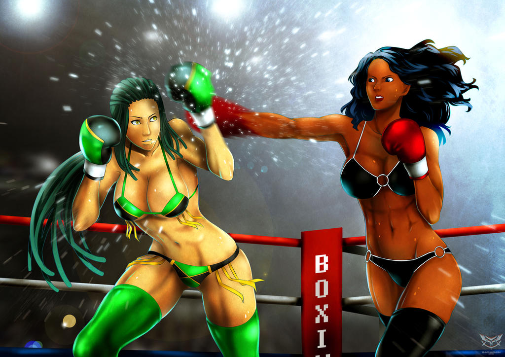 Elizabeth VS Jessica  part 1 by deadpoolthesecond