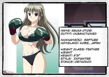 Asuka Otori profile professional by deadpoolthesecond
