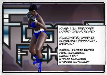 Lisa Breckner profile fosterfights by deadpoolthesecond