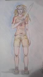 Anabeth pencil drawing