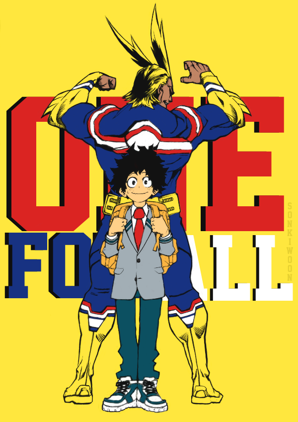 Boku No Hero Academia By Sonkiwoon On Deviantart