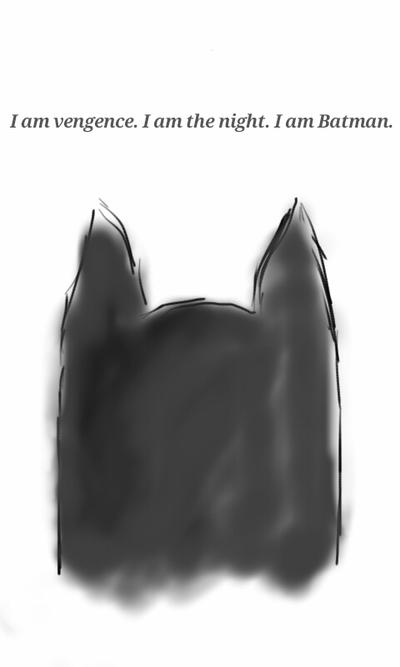Sketch I am Batman. by the-notebooks-voice