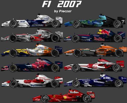 F1 2007 carset