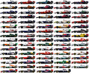 Formula 1 cars 2007-2013