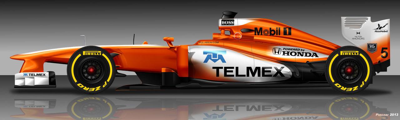 McLaren Honda 2015