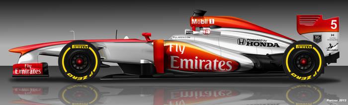 McLaren Honda 2015 - FlyEmirates