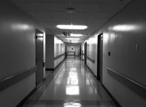Hospital halls are like Hell