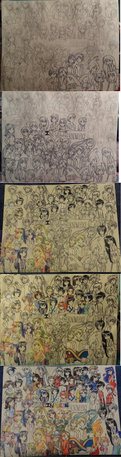 Portfolio- process by Mikisakiiro