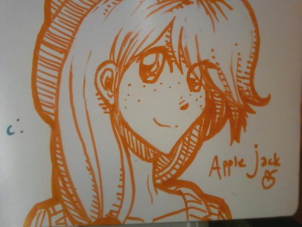 Whiteboard AJ by Mikisakiiro