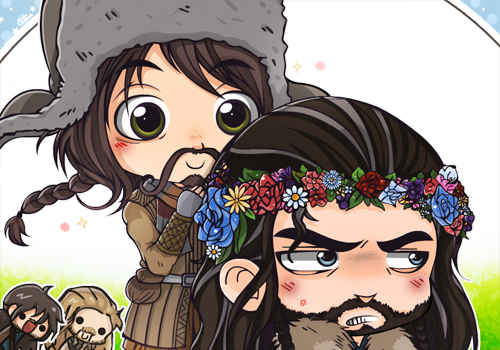 Bofur And Thorin  Simple Animation By Cibiah-d6f9a by Lukedog340