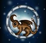 Dragon Capricorn Zodiac by PeziCreation