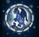 Dragon Pisces Zodiac by PeziCreation
