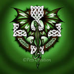 celtic dragon by PeziCreation
