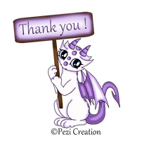 thank you MINI PNG by PeziCreation
