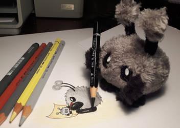 Mimi drawing MIMI drawing MIMI by PeziCreation