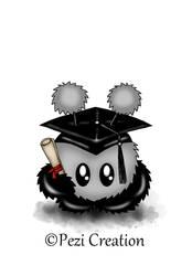 Graduation Mimiplushie by PeziCreation
