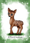 cute Fawn by PeziCreation