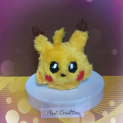 Pikachu Mimiplushie by PeziCreation